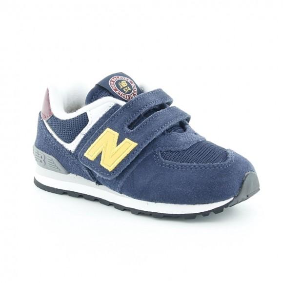 Zapatillas New Balance 574 Azul-Amarillo