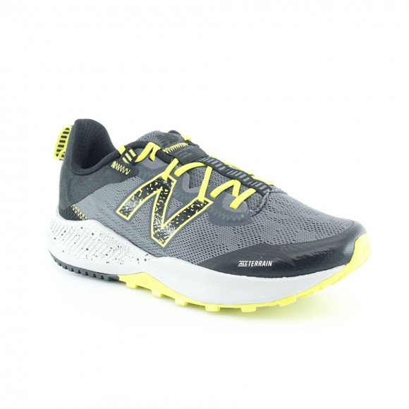 Zapatillas New Balance Nitrel Gris-Verde