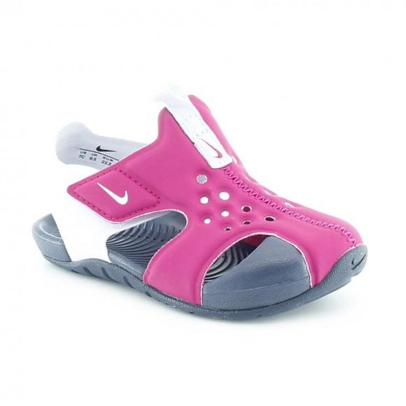 Sandalias de agua Nike Sunray Protect Fucsia.
