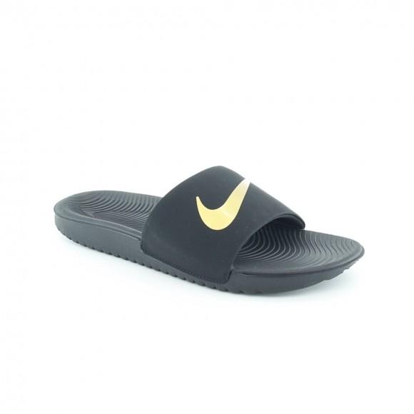 Chanclas de agua Nike Nike Kawa Negro-Oro