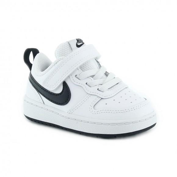 Zapatillas Nike Court Borough Blanco-Negro