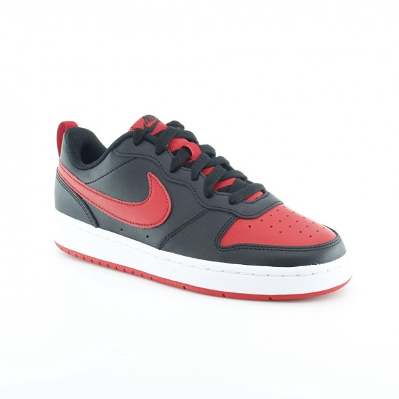 Zapatillas Nike Court Borough Negro-Rojo c