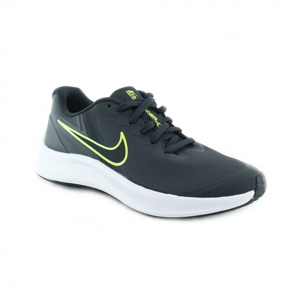 Zapatillas Nike Star Runner 3 Gris-Verde C.