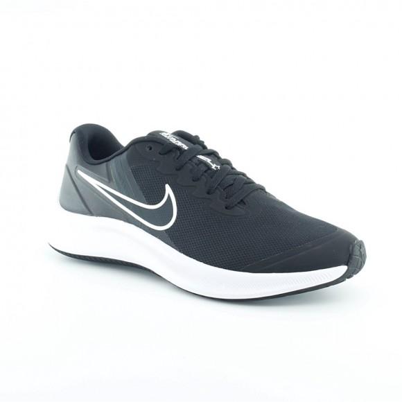 Zapatillas Nike Star Runner 3 Negro-Blanco C