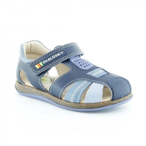 Sandalias Pablosky 099325 Azul-Jeans .