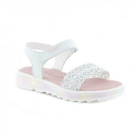 Sandalias de niña Pablosky 493700 Blanco