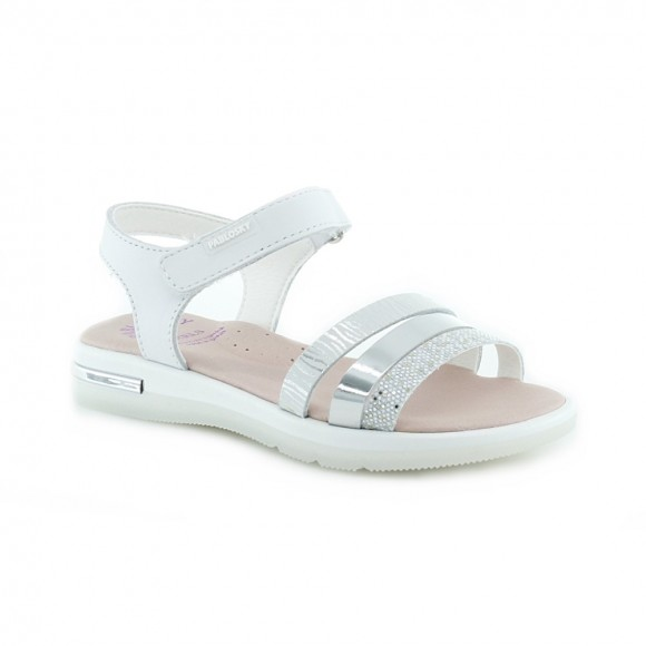 Sandalias de niña Pablosky 494505 Plata