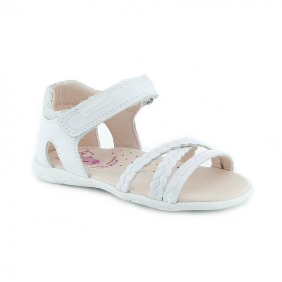 Sandalias de niña Pablosky 092100 Blanco.