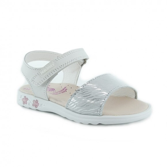 Sandalias de niña Pablosky 096602 Plata.