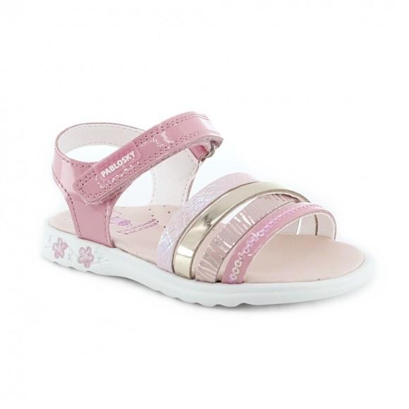 Sandalias de niña Pablosky 097079 Rosa
