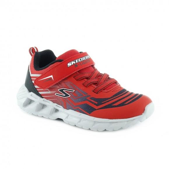Zapatillas con luces Skechers Magna-lights Rojo
