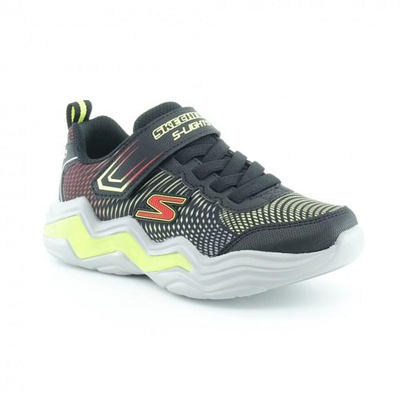 Zapatillas con luces Skechers Erupters IV Negro