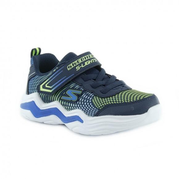 Zapatillas con luces Skechers Erupters Azul.