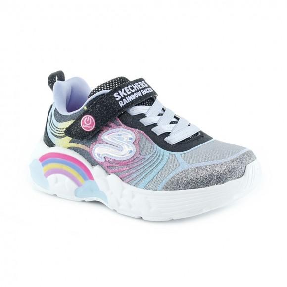 Zapatillas con luces Skechers Rainbow Malva
