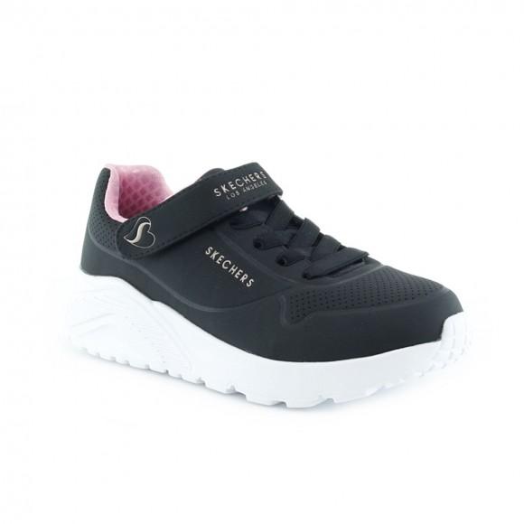 Zapatillas Skechers Uno Lite Negro.