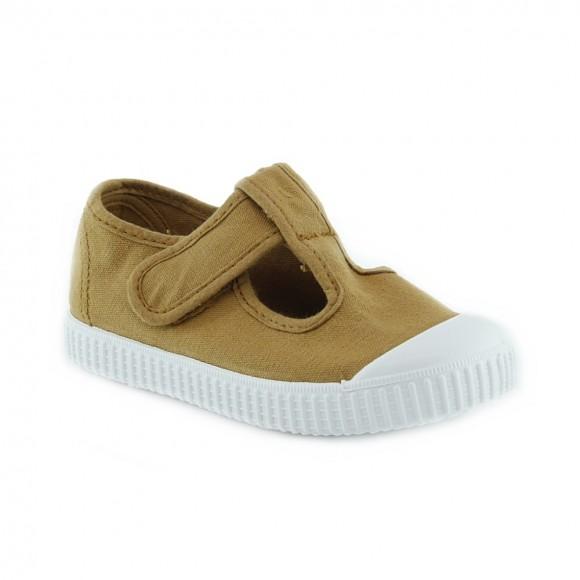 Zapatillas de lona Victoria 136625 Mostaza