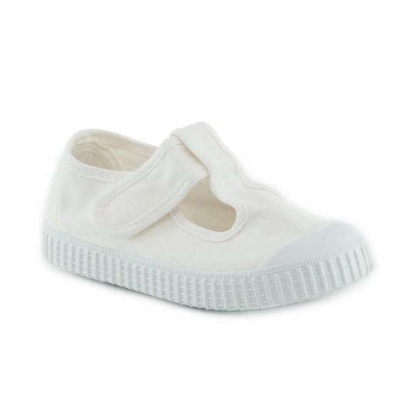 Zapatillas de lona Victoria 136625 Blanco