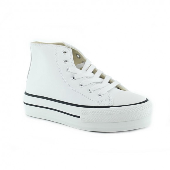 Zapatillas bota Victoria 1061107 Blanco P