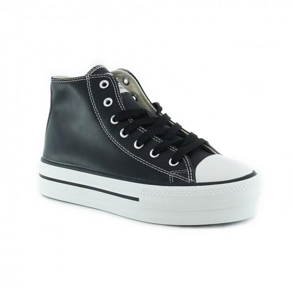 Zapatillas bota Victoria 1061107 Negro P.