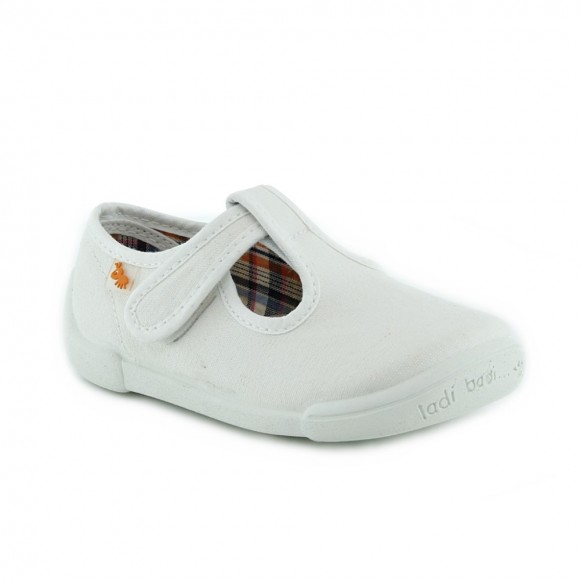 Zapatillas de lona Vulladi 7775-558 Blanco