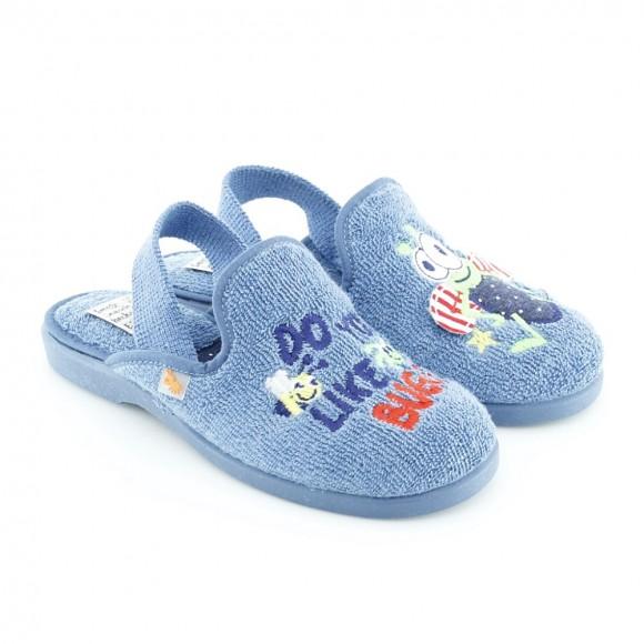Zapatillas de casa niño 4102-052 Jeans