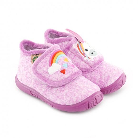 Zapatillas de casa Zapy Unicornio Rosa