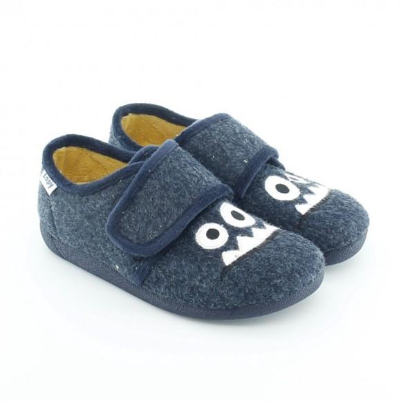 Zapatillas de casa Zapy Cara Azul