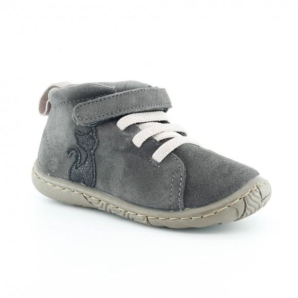Zapatos para niños Zapy Gato Gris