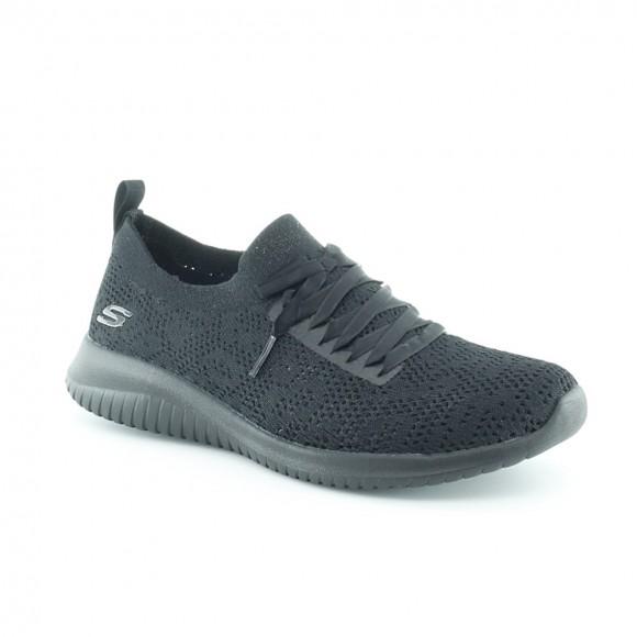 Zapatillas Skechers Ultraflex Negro.