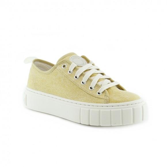 Zapatillas de lona Victoria 1270102 Amarillo