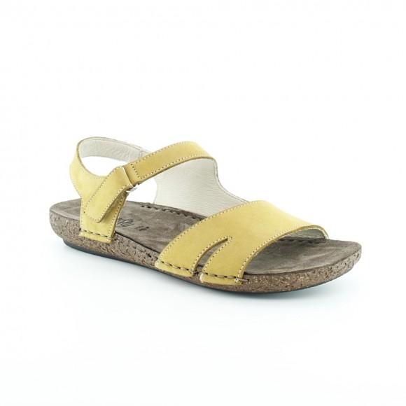 Sandalias de mujer Walk 7261 45000 Amarillo