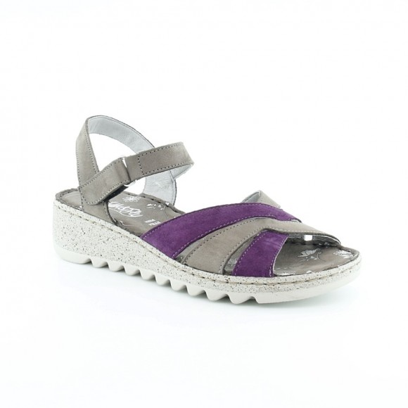 Sandalias de mujer Walk 9371 36141 Gris