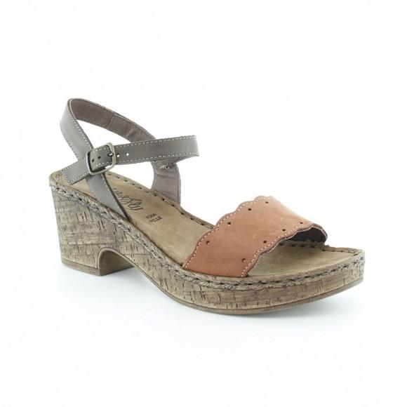 Sandalias de mujer Walk 6546 42361 Marrón