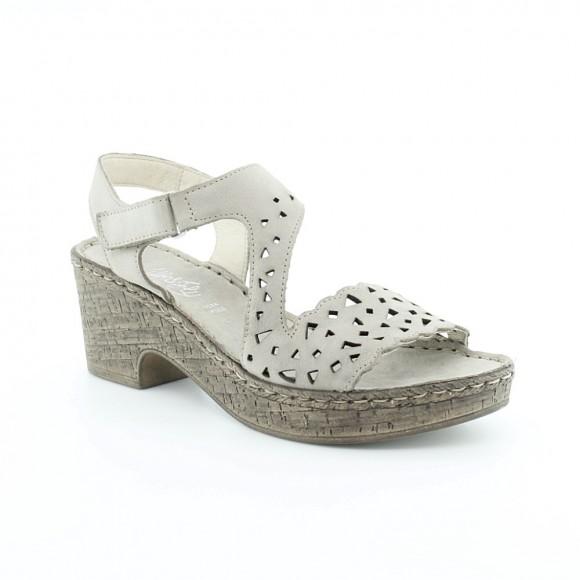 Sandalias de mujer Walk 6546 43941 Gris.