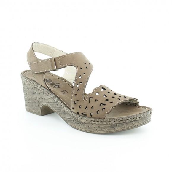 Sandalias de mujer Walk 6546 43941 Marrón