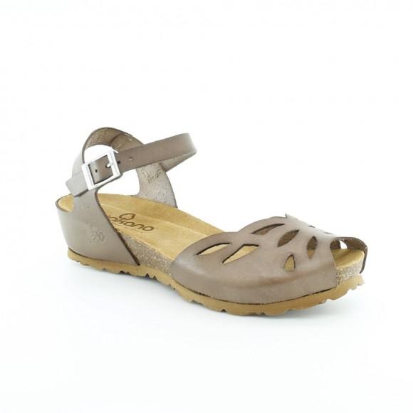 Sandalias de mujer Yokono Monaco Marrón