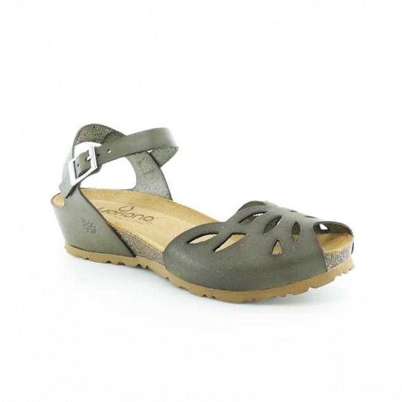 Sandalias de mujer Yokono Monaco Verde.