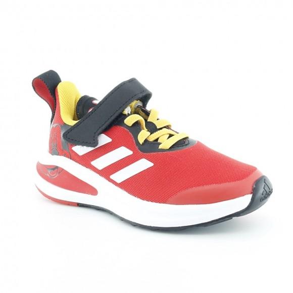 Zapatillas Adidas FortaRun Mickey Rojo
