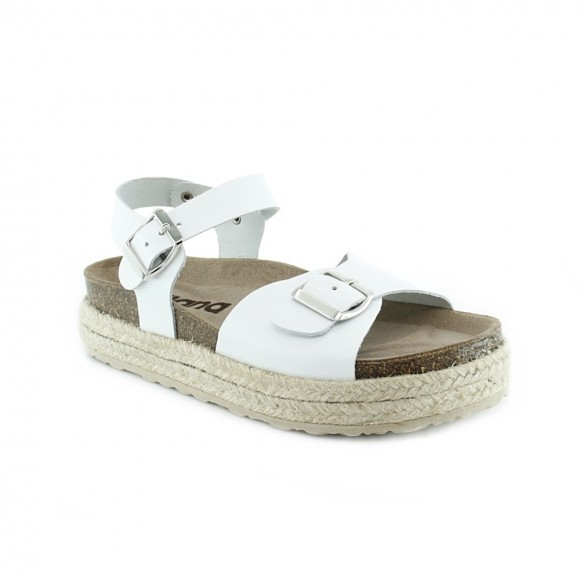Sandalias de plataforma AngryMount 801 Blanco