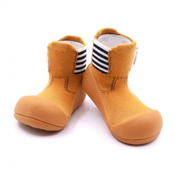 Calcetines Attipas Rain Boots Amarillo.