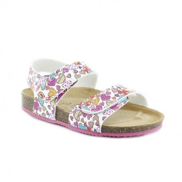 Sandalias de niña Bio-Bio Zanita Corazones