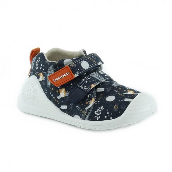 Zapatillas de lona Biomecanics 212220-A Azul