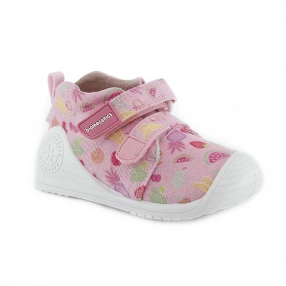 Zapatillas de lona Biomecanics 212210-A Rosa.