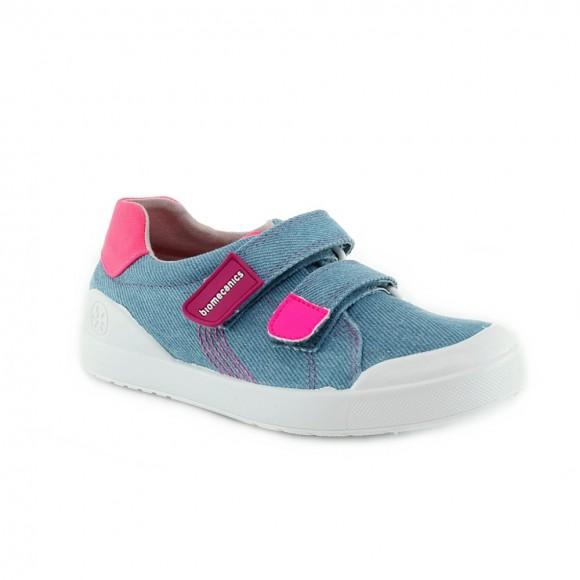 Zapatillas Biomecanics 212229-A Jeans-Fucsia