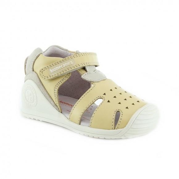 Sandalias de niña Biomecanics 212110-A Amarillo