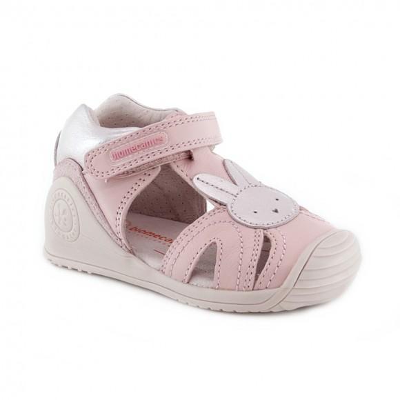 Sandalias de niña Biomecanics 212114-A Rosa