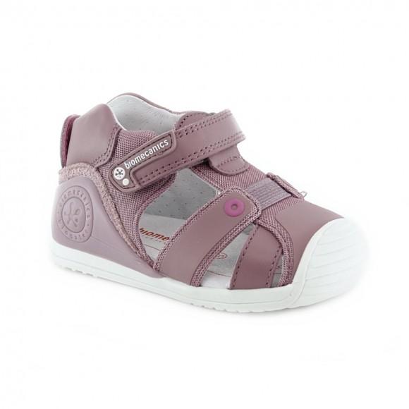 Sandalias de niña Biomecanics 212144-D Malva