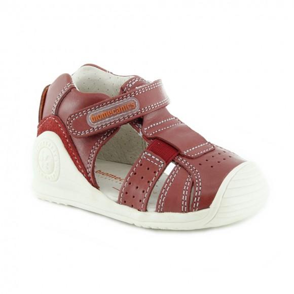 Sandalias de niño Biomecanics 212134-C Rojo