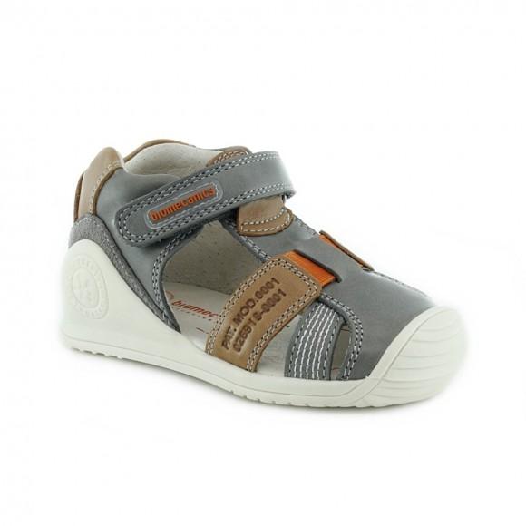 Sandalias de niño Biomecanics 212134-B Gris.