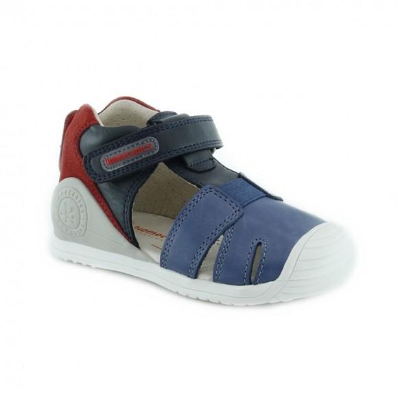 Sandalias de niño Biomecanics 212136-A Azul
